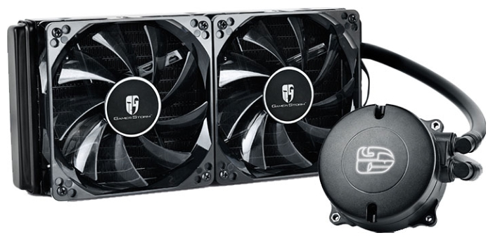 ������������ ����� Deepcool Maelstrom 240T, Red DP-GS-H12RL-MS240T-RED
