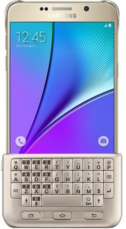 "Samsung для Samsung Galaxy Note 5 (EJ-CN920RFEGRU), gold - (для Samsung Galaxy Note 7; 5.7""; пластик, резинка)"