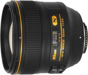 Фотообъектив Nikon 85 mm f/1.4G AF-S Nikkor JAA338DA