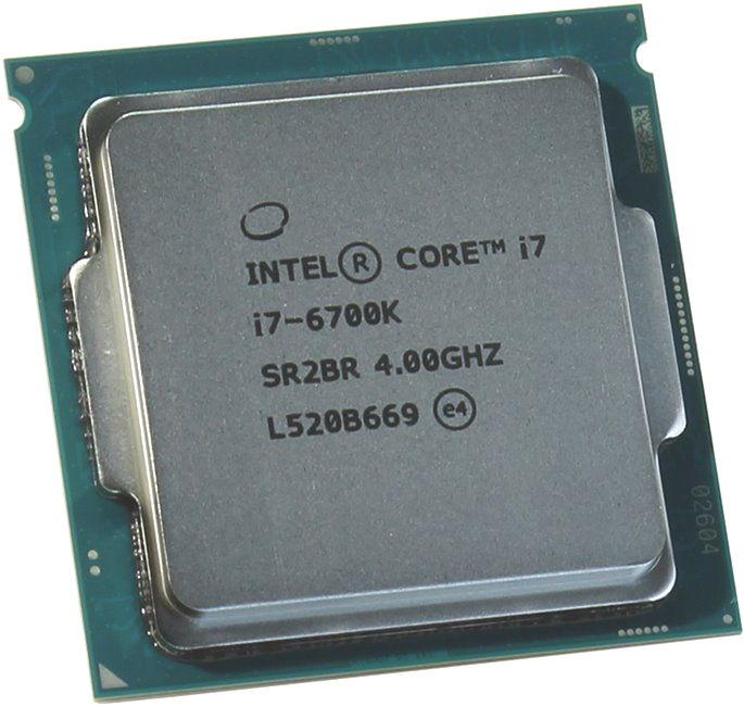 Процессор Intel Core i7-6700K Skylake (4000MHz, LGA1151, L3 8192Kb), OEM CM8066201919901