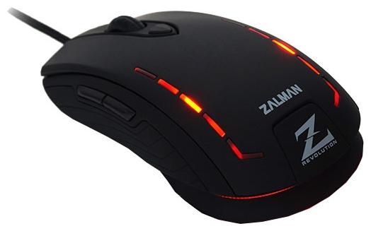 Мышь Zalman ZM-M401R Black USB