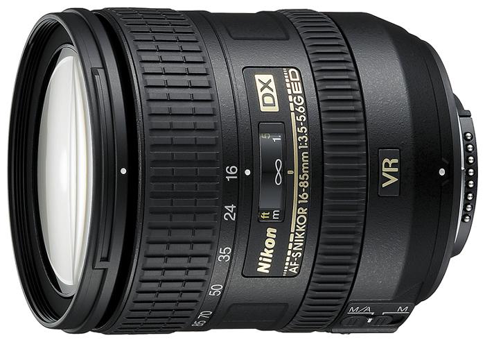 Фотообъектив Nikon 16-85 mm f/3.5-5.6G ED VR AF-S DX Nikkor