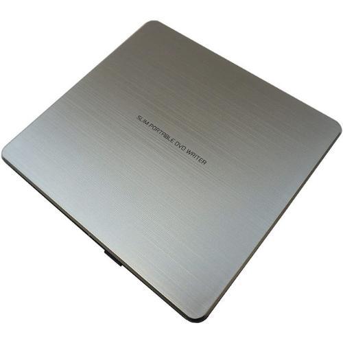 Внешний оптический привод LG GP80NS60, Silver