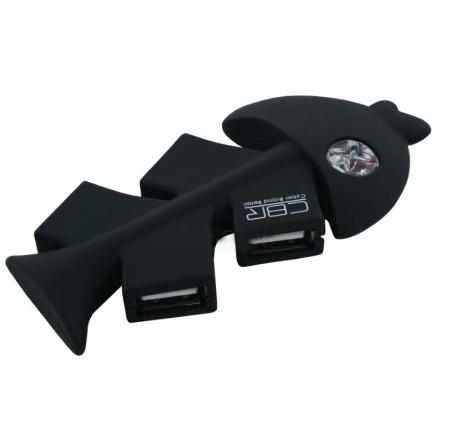 CBR CH-145 (4 порта, USB 2.0) - пассивный; портов 4-порта; USB 2.0 CH 145