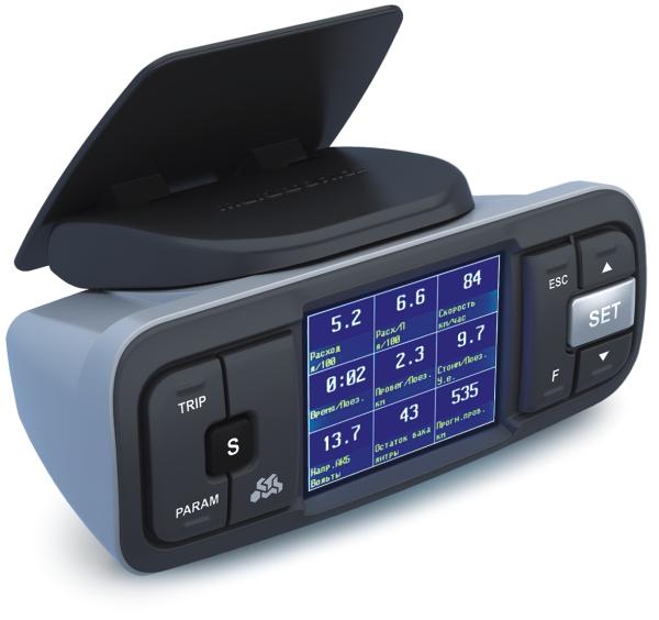 Multitronics VC730 - 9 - 16 В; Экран ЖК, цветной, 2.4''; 320x240; Мультидисплей есть Multitronics_VC730