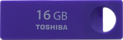����������: ������ Toshiba TransMemory-Mini 20MB/s 16GB Purple - 16 ��; USB 2.0; ������ 20 ��/�; ������ 4 ��/�