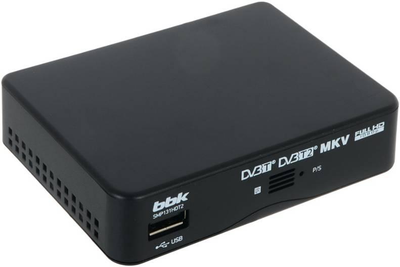 Ресивер BBK SMP131HDT2 black SMP131HDT2 черный