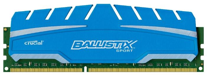 ����������� ������ Crucial BLS8G3D169DS3CEU, 8Gb (DDR3 DIMM, 1600MHz, CL9)