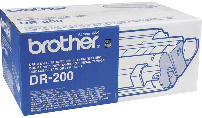 Фотобарабан Brother DR-200 Black DR200