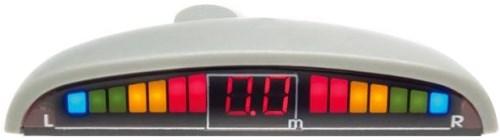 SPIDER PS-06 (White) - (Экран светодиодный, сегментный; точность 10 см; 4 датчика • Расстояние: 1.5 м … 0.3 м)