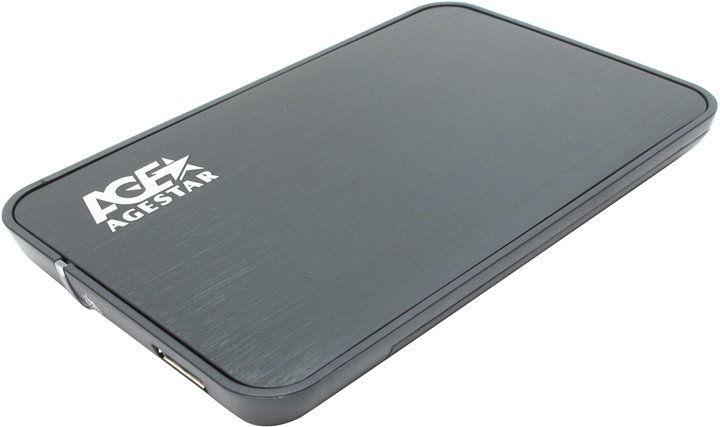 Корпус для жесткого диска AgeStar 3UB2A8, Black 3UB2A8 Black