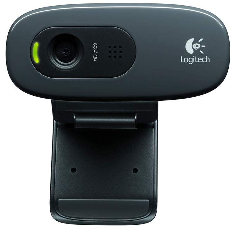 Веб-камера Logitech HD Webcam C270 Black 960-000636