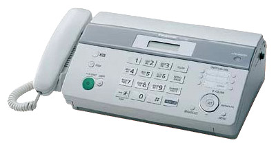 Факс Panasonic KX-FT982RUW White, рулон, A4