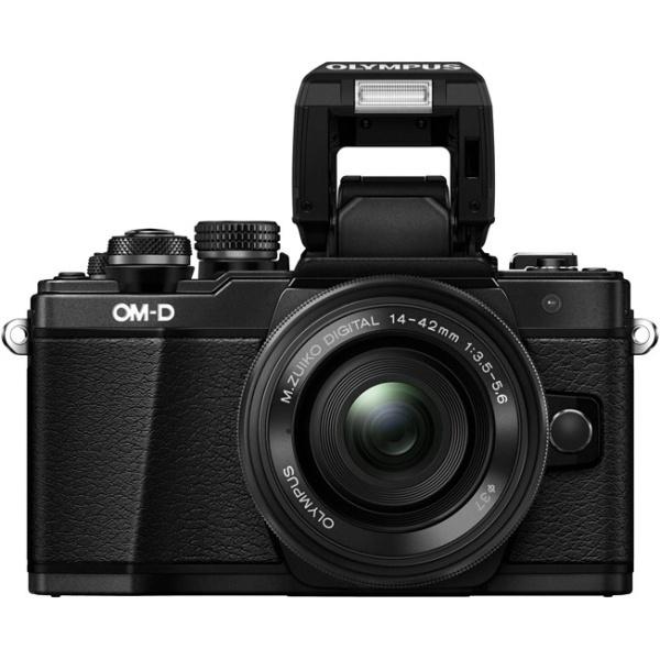 Olympus OM-D E-M10 Mark II Kit , black - (17.2 млн, 1920x1080, 8.5 кадр./сек, ЖК-экран: поворотный, сенсорный, 1037000 точек, 3 дюйма)