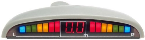 SPIDER PS-06 Red - (Экран светодиодный, сегментный; точность 10 см; 4 датчика • Расстояние: 1.5 м … 0.3 м)