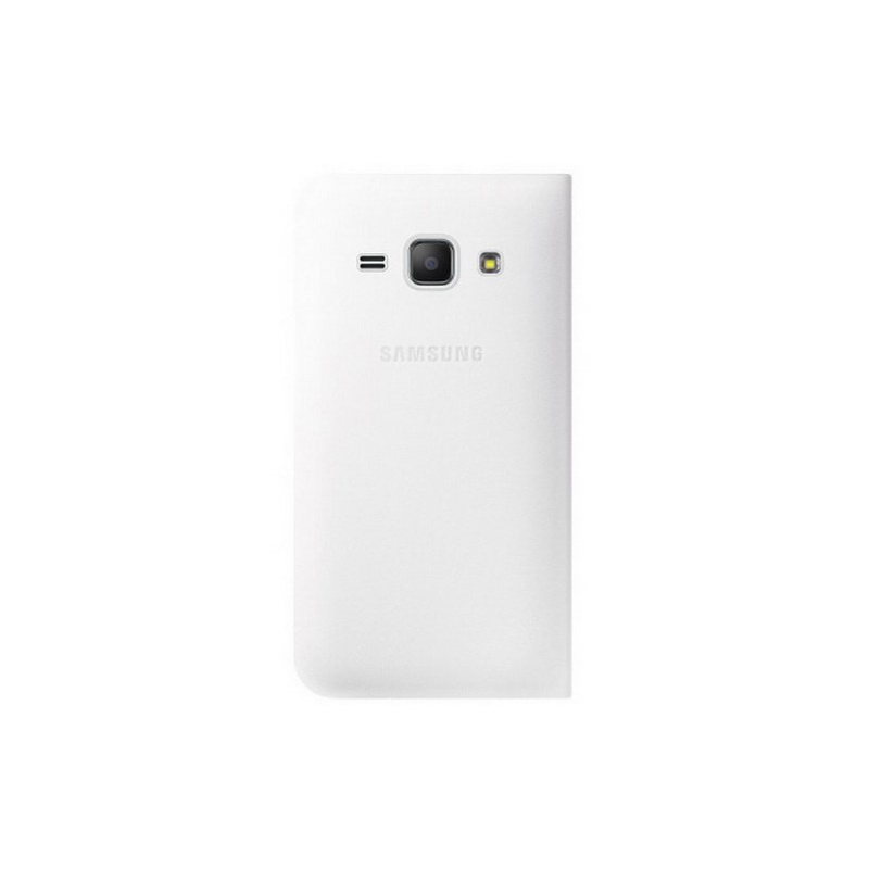 Samsung для Samsung Galaxy J1 mini Flip Cover, white - (Samsung Galaxy J1 mini ; искусственная кожа)
