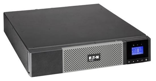 Eaton 5PX 1500i RT2U - интерактивный; 1500 ВА / 1350 Вт; в среднем 19 мин; вход 150 - 294 В; розеток 8 (из них с питанием от батарей