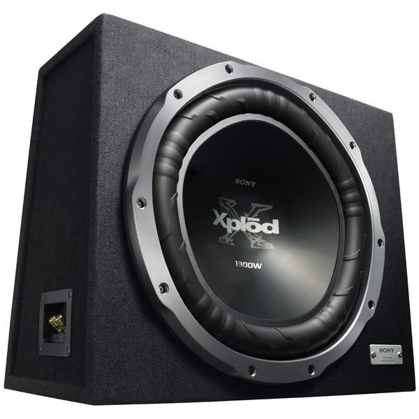 Sony XS-GTX150LE//Z - Сабвуфер; 30 - 1000 Гц; 4 Ом; полос 1; 400 Вт (номинальная), 1300 Вт (максимальная); 38 см (15 дюйм.); НЧ-динамиков