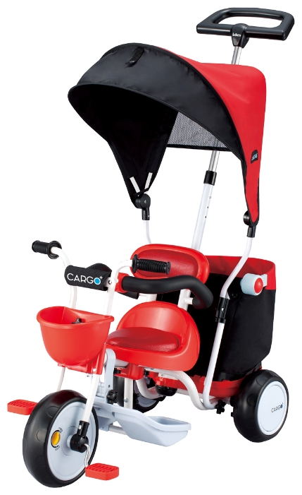 Велосипед трехколесный IDES Cargo Plus Красный