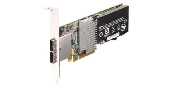 IBM ServeRAID-M5025 SAS/SATA ECC 512MB (46M0830) - RAID-контроллер (RAID 0, 1); снаружи 2x SFF8088