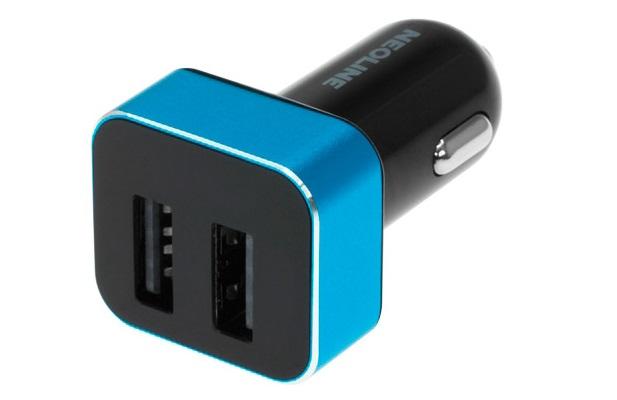 Зарядное устройство Neoline Volter D2 (автомобильное) blue-black