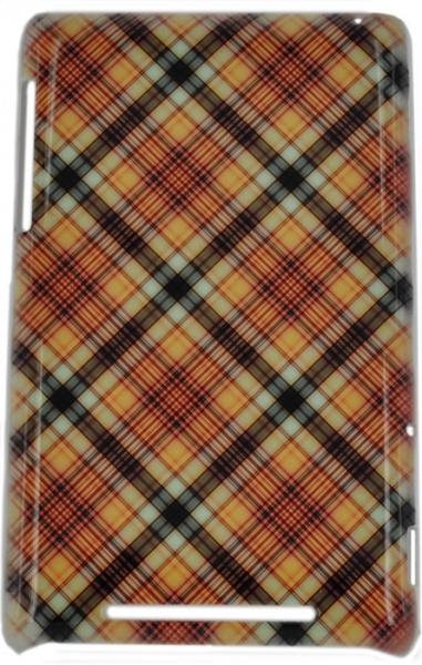 Чехол E-cell Beige pink plaid pattern для ASUS Nexus 7