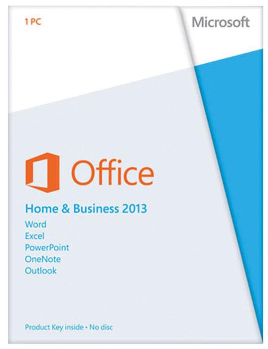Программа Microsoft Office 2013 для дома и бизнеса Рус. BOX T5D-01763