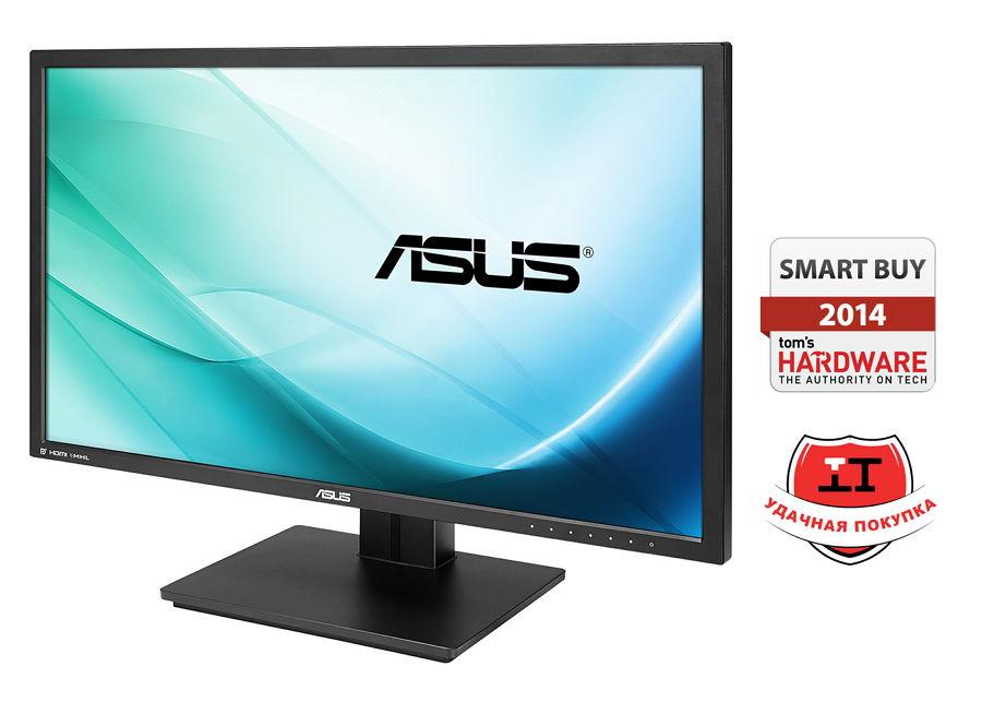 "ASUS PB287Q Black - (28"", TFT TN, WLED, 3840x2160 (16:9), 300 кд/м2, 100000000:1, 1 мс, более 1 млрд. цветов, стереоколонки (2x2 Вт), HDMI 1.4 x2, DisplayPort, аудио стерео)"