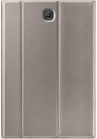 Чехол Samsung для Galaxy Tab S2 Book Cover (EF-BT715PFEGRU) golden - (Чехол-книжка; ; застёжка - Магнитная; полиуретан; Золотистый • назначение - Galaxy Tab S2 8.0)