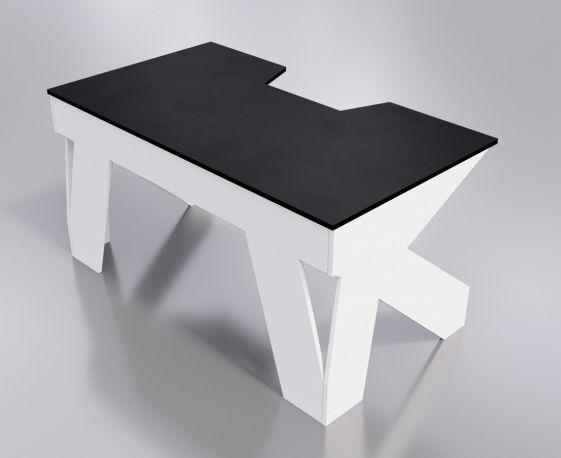 Стол компьютерный Generic Comfor Hit/NW, White Black Comfort Hit/NW