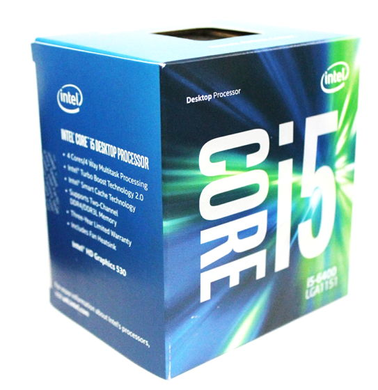 Процессор Intel Core i5-6400 Skylake (2700MHz, LGA1151, L3 6144Kb), BOX
