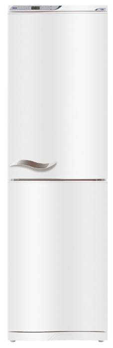 Атлант МХМ 1845-62 - (холодильник с морозильником, 384 л (клим.класс SN), отдельно стоящий, компрессоров 2, камер 2, дверей 2. Хол-ник 230 л (разм. капельная система). Мор-ник 154 л, внизу (разм. ручное). ШГВ 60x64x205 см. Управление электронное. Энергопотр-е класс A (379.60 кВтч/год). белый / пластик)