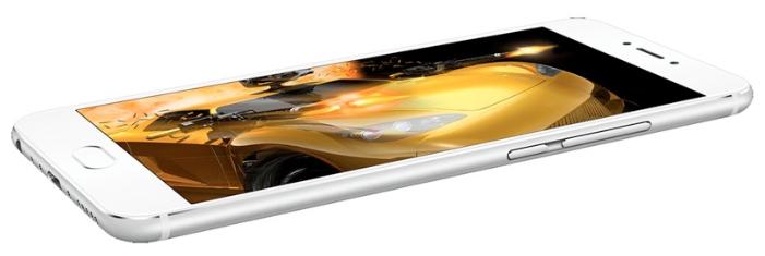Meizu MX6 4/32GB Silver - (; GSM 900/1800/1900, 3G, 4G LTE, LTE-A Cat. 6; SIM-карт 2 (nano SIM); MediaTek Helio X20 (MT6797); RAM 4 Гб; ROM 32 Гб; 3060 мАч; 12 млн пикс., светодиодная вспышка; есть, 5 млн пикс.; датчики - освещенности, Холла, гироскоп, компас, барометр, считывание отпечатка пальца)