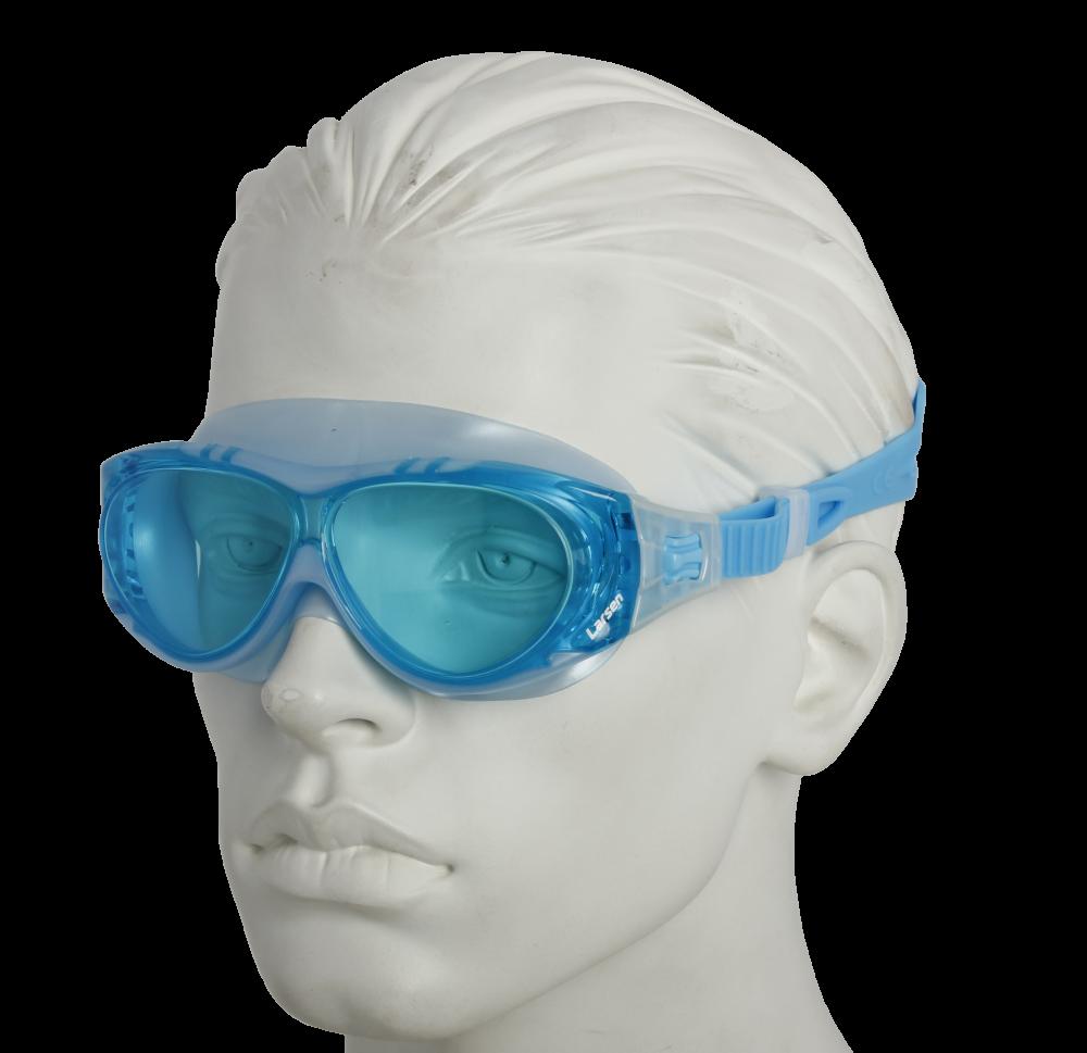 Очки плавательные Larsen DK6 голубой (ТРЕ)