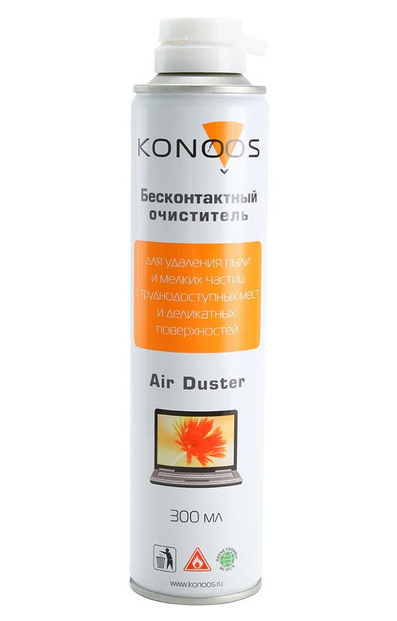 Konoos KAD-300 (сжатый газ, 300 мл) - для бесконтактной чистки оптики, механизмов и устройств, чувствительных к механическим или химическим