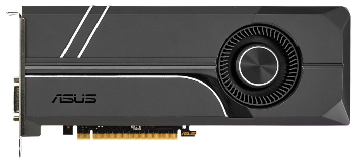 Видеокарта ASUS PCI-E NV GTX1070 8192Mb 256b DDR5 D-DVI+HDMI TURBO-GTX1070-8G