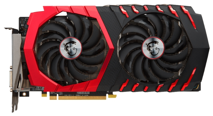 ���������� MSI Radeon RX 470 1254Mhz PCI-E 3.0 4096Mb 6700Mhz 256 bit DVI 2xHDMI HDCP RX 470 GAMING X 4G