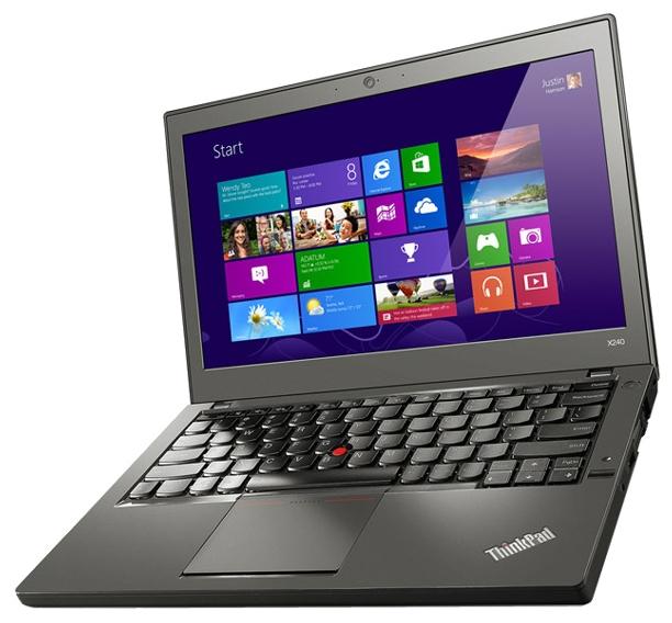 Lenovo X240 20AL00DJRT - (Core i7 4600U 2100 МГц. Экран 12.5 дюймов, 1366x768, широкоформатный да. ОЗУ 4096 Мб. Накопители SSHD 1016 Гб; DVD нет. GPU Intel HD Graphics 4400. ОС Win 7 ProfessionalWin 8.1)