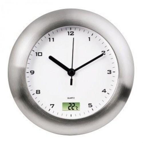Часы настенные Hama Bathroom H-113914, silver