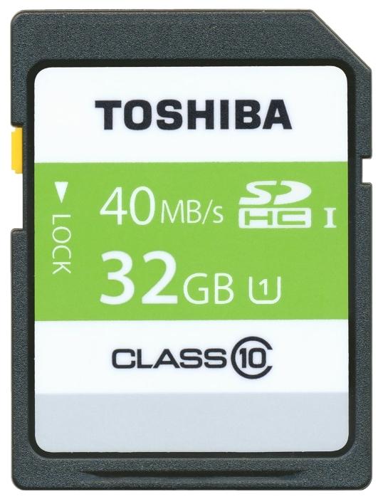 ����� ������ Toshiba SD-T032UHS1(6 [32 ��, SDHC, U1, UHC-I]