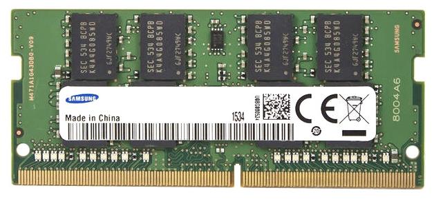 Оперативная память Samsung DDR4 2133 SO-DIMM 8Gb M471A1G43EB1-CPBD0