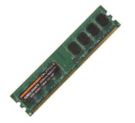 Оперативная память Qumo DDR3 1333 DIMM 4Gb (QUM3U-4G1333C9)