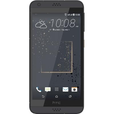 HTC Desire 630 Dual Sim 16 Gb Golden Graphite - (; GSM 900/1800/1900, 3G; SIM-карт 2 (nano SIM); 1600 МГц; RAM 2 Гб; ROM 16 Гб; 2200 мАч; 13 млн пикс., светодиодная вспышка; есть, 5 млн пикс.; датчики - освещенности, приближения)