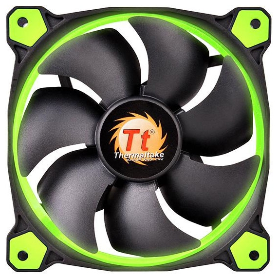 ���������� ��������� Thermaltake Riing 12 LED Green CL-F038-PL12GR-A