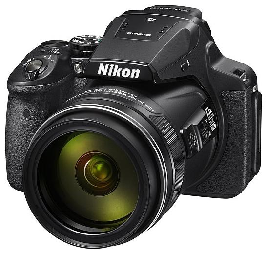Nikon Coolpix P900, black - (16.76 млн, оптический zoom: 83x, 1920x1080, 7 кадр./сек, ЖК-экран: поворотный, 921600 точек, 3 дюйма)