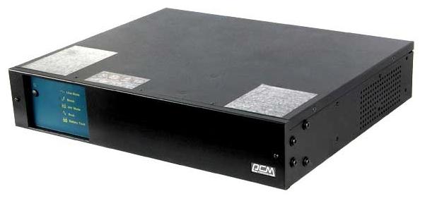 Powercom King Pro KIN-3000AP-RM - интерактивный; 3000 ВА / 1800 Вт; вход 165 - 275 В; розеток 6 (из них с питанием от батарей - 4)