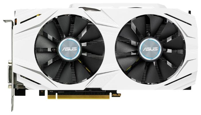 Видеокарта Asus Radeon RX 480 (8 Gb, 256 Bit, GDDR5) DUAL-RX480-O8G