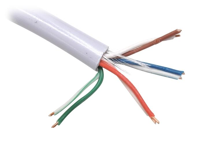 Telecom Ultra TUS44148E UTP 4 пары (100м) - (; сечение 0.205 мм2; Омедненный алюминий (CCA); категория 5E)