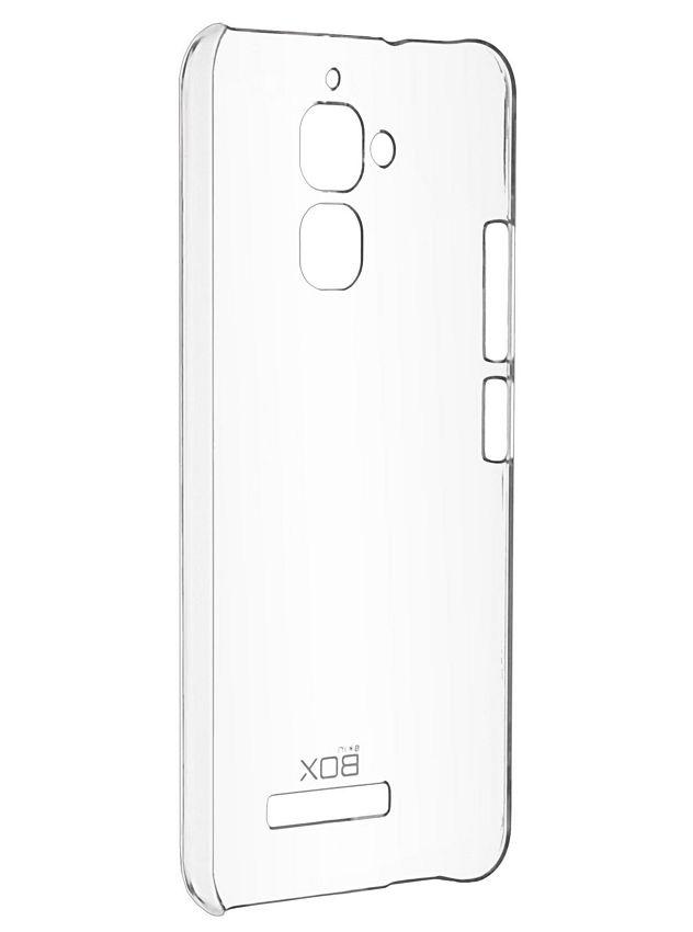 Чехол SkinBOX 4People T-S-AZC520TL-007 (для Asus Zenfone 3 Max ZC520TL), Clear