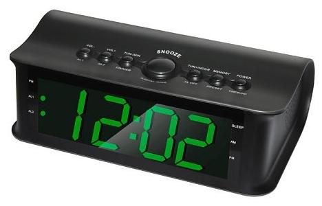 Радиобудильник Rolsen CR-182, black 1-RLDB-CR-182